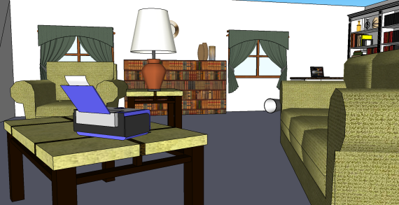 The Sketchup Model